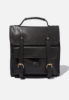 Typo - Buffalo satchel backpack - black
