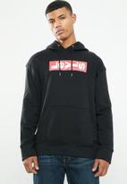 Levi's® - Oversized graphic hoodie boxtab po - black