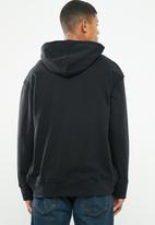 Levi's® - Oversized graphic hoodie boxtab po - black