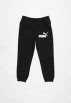 PUMA - Ess logo sweat pants - black