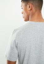 KAPPA - Logo Zobi tee - grey