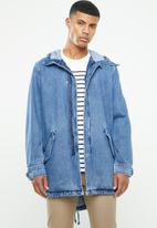 Levi's® - LW fishtail parka - blue