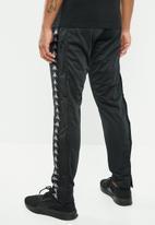 KAPPA - Astoria snap pants - black & grey