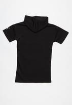 PUMA - Alpha hooded dress - black