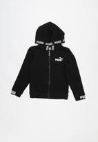 PUMA - Amplified hooded jacket - black