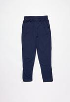 PUMA - ZA boys tricot pant - navy