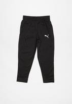 PUMA - ZA boys tricot pant - black