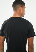KAPPA - Authentic estessi slim tee - black