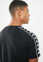 KAPPA - Banda coen tee - black & white