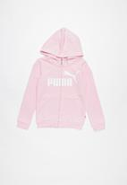 PUMA - Hooded jacket - pink
