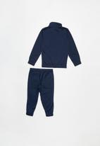 PUMA - Kids tricot suit - navy
