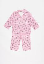 POP CANDY - Flannel penguin pyjamas - pink