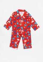 POP CANDY - Flannel dinosaur pyjamas - red