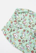 POP CANDY - Full flannel pyjamas - green