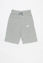 Nike - B nsw shorts - grey