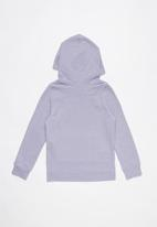 Under Armour - Rival hoodie - purple & pink