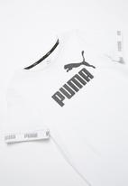 PUMA - Amplified tee - white