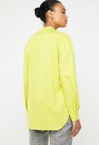 Superbalist - Mandarin shirt - green