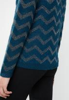 Vero Moda - Long sleeve knit - blue