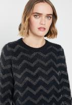 Vero Moda - Long sleeve knit - navy