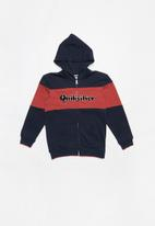 Quiksilver - Power slash zip youth - navy