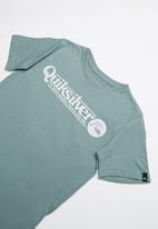 Quiksilver - Art tickle short sleeve youth - green