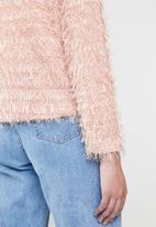 Vero Moda - Long sleeve cardigan - pink
