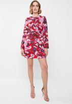 Vero Moda - Marlene short dress - red