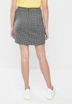 Vero Moda - Ylva short skirt - grey
