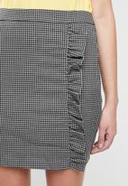 Vero Moda - Ylva short skirt - grey