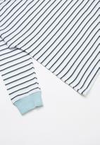 Cotton On - Tom loose fit tee - blue & white