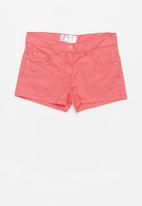 POP CANDY - Girls twill shorts - pink