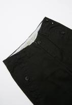 POP CANDY - Chino pants - black