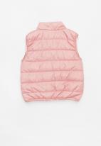 name it - Lane puffer vest jacket - pink