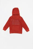 MINOTI - Boys hooded top - red