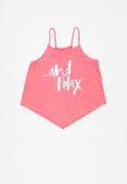 MINOTI - Beachy print top - pink