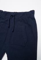 MINOTI - Boxy tee & jumbo joggers - blue