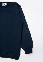 Rebel Republic - 2 pack sweat top - navy & grey