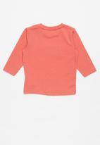 name it - Mermosso long sleeve top - red