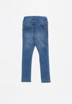 name it - Polly denim pants  - blue