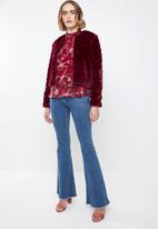 Vero Moda - Becca long sleeve top - red