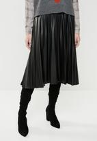Superbalist - Pleated skirt - black