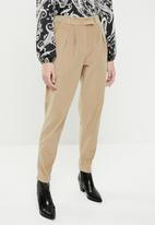 Superbalist - Cord tapered trouser - beige