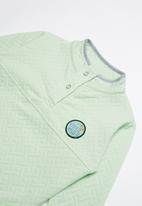 Rip Curl - Mini quilla fleece - green & grey