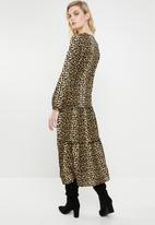 Vero Moda - Leo maxi dress - black & neutral