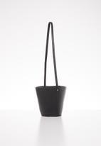Superbalist - Isa drawstring bucket bag - black