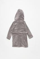 POP CANDY - Plain fleeced gown - grey