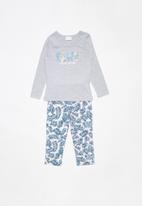 POP CANDY - Single jersey flannel bamboo pyjama set - multi