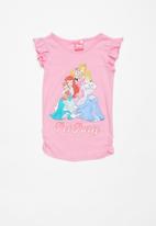 POP CANDY - Disney princess pet party printed tee - pink