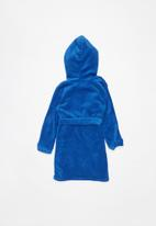 POP CANDY - Plain fleece gown - blue
